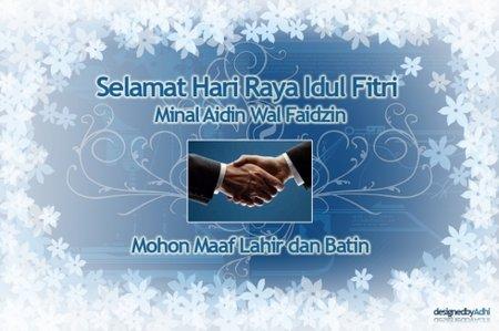 idul fitri greeting by adhi